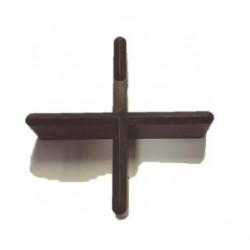 Tegelkruisje Zwart 70x70x20x5 mm